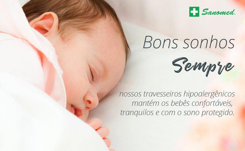 Travesseiro de Bebê - Antialérgico 30x40cm 9